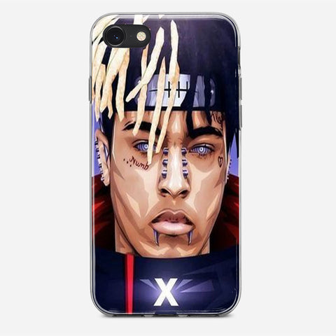 XXXTENTACION Pain Naruto iPhone SE Case
