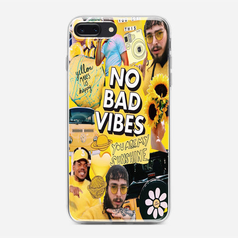 Yellow Post Malone iPhone 8 Plus Case