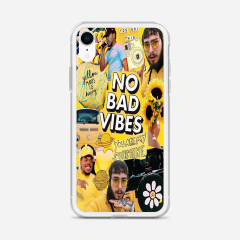 Yellow Post Malone iPhone XR Case