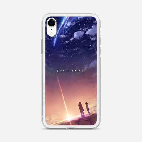 Your Name Anime iPhone XR Case