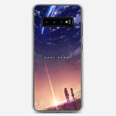 Your Name Anime Samsung Galaxy S10 Plus Case