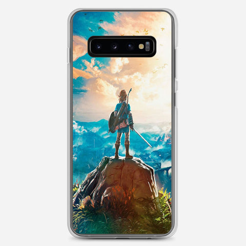 Zelda Breath Of The Wild Samsung Galaxy S10 Plus Case