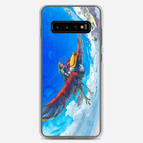 Zelda Skyward Sword Samsung Galaxy S10 Plus Case