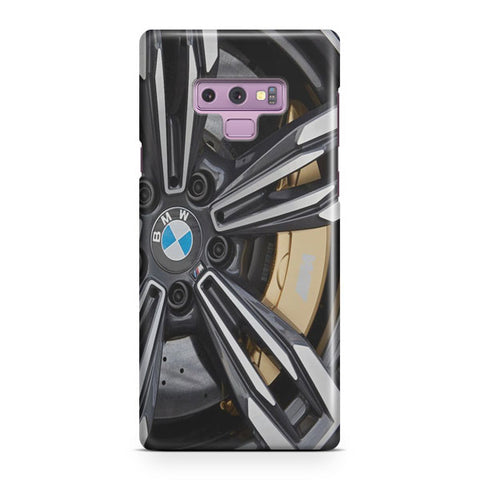 BMW Rims Samsung Galaxy Note 9 Case