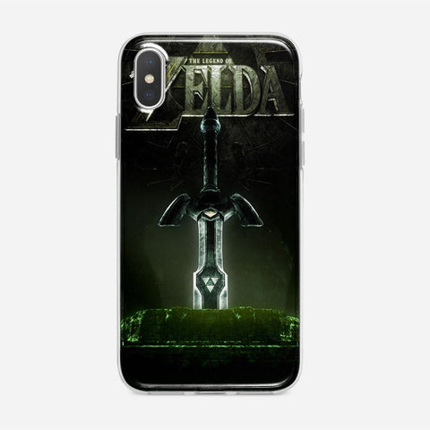 Zelda Sword iPhone XS Max Case