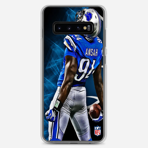 Ziggy Ansah Detroit Lions Samsung Galaxy S10 Plus Case