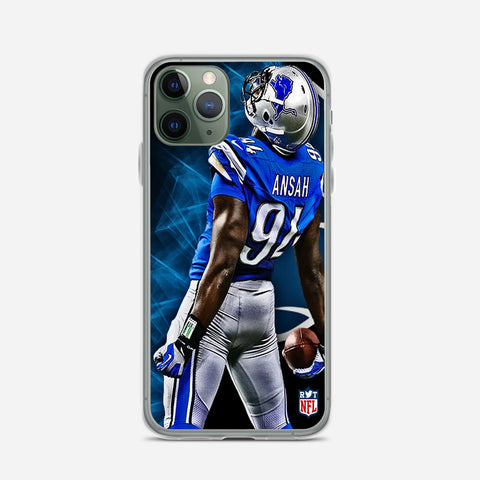 Ziggy Ansah Detroit Lions iPhone 11 Pro Max Case