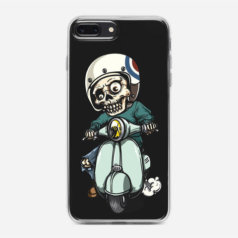 Zombie on Scooter iPhone 8 Plus Case