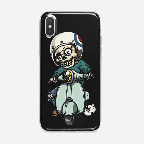 Zombie on Scooter iPhone XS Max Case