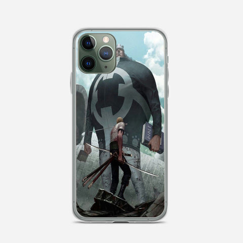 Zoro VS Bartholomew Kuma iPhone 11 Pro Case