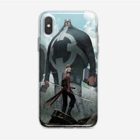 Zoro VS Bartholomew Kuma iPhone XS Max Case