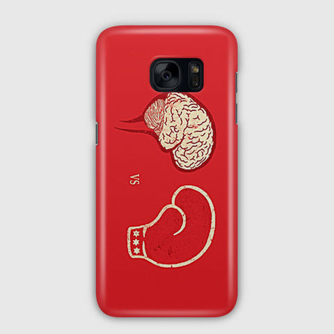 Brain VS Boxing Sport Samsung Galaxy S7 Edge Case