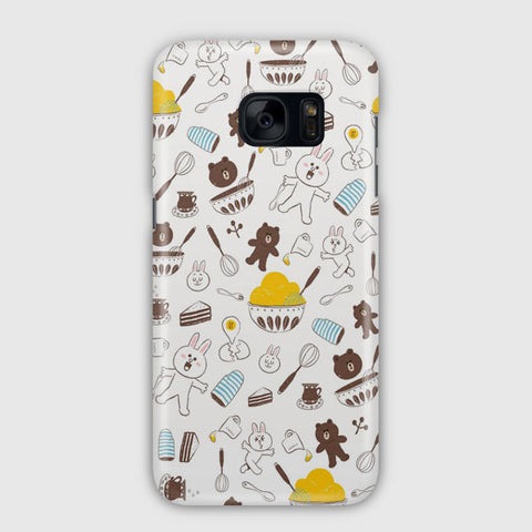 Brown And Cony Samsung Galaxy S7 Edge Case