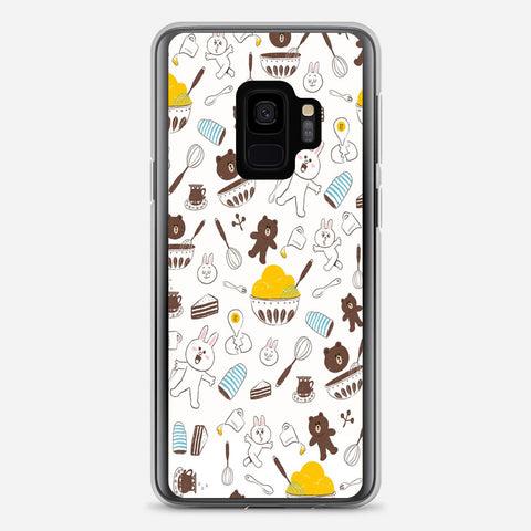 Brown And Cony Samsung Galaxy S9 Case