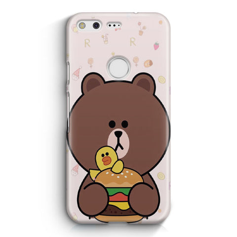 Brown Missing Cony Google Pixel XL Case