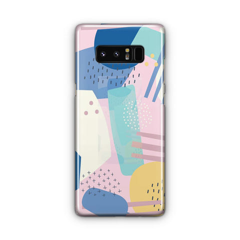 Abstract Artwork Samsung Galaxy Note 8 Case