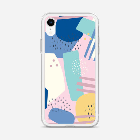 Abstract Artwork iPhone XR Case
