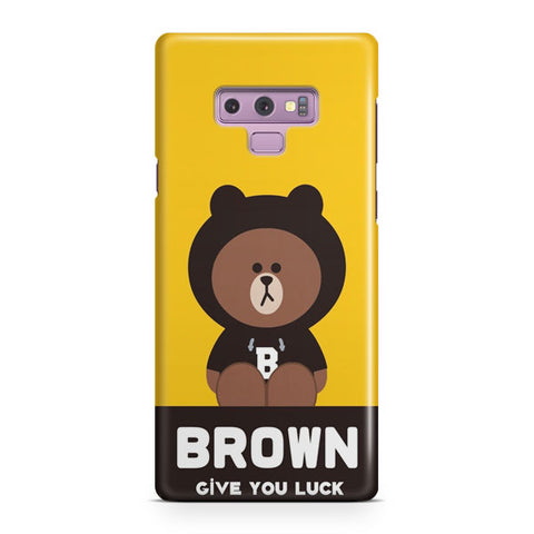 Brownn Give You Luck Samsung Galaxy Note 9 Case
