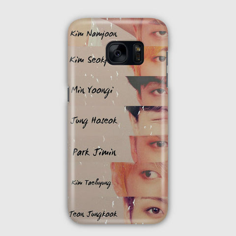 BTS Answer Album Samsung Galaxy S7 Case
