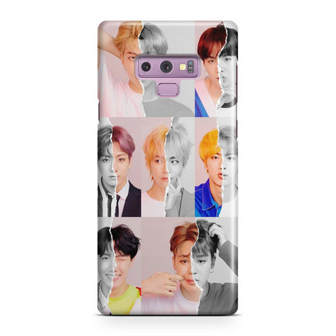 BTS Answer Photo Album Samsung Galaxy Note 9 Case