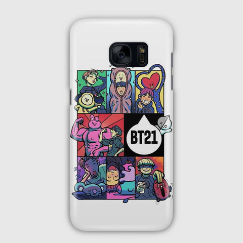 BTS Artwork Samsung Galaxy S7 Case