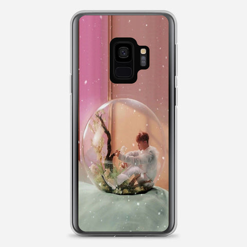 BTS Jimin Artwork Samsung Galaxy S9 Case