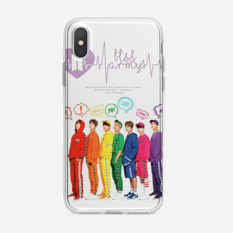 BTS ARMY Cover iPhone XS Max Case