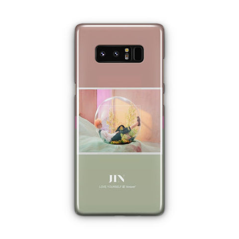 BTS Jin Photopack Samsung Galaxy Note 8 Case