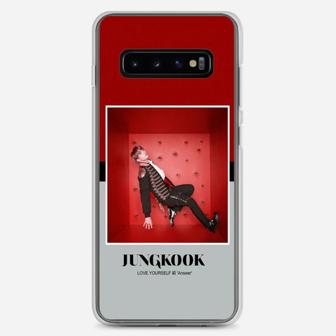 BTS Jungkook Concept Photo Samsung Galaxy S10 Plus Case