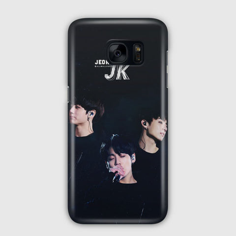BTS Jungkook Love Yourself Samsung Galaxy S7 Edge Case