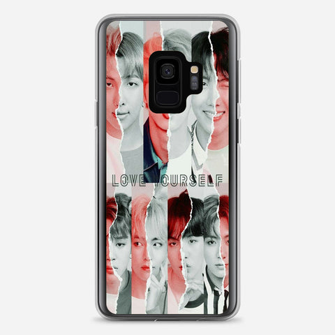 BTS Love Yourself Album Artwork Samsung Galaxy S9 Case