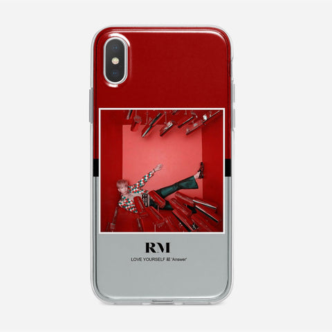 BTS RM iPhone XS Case