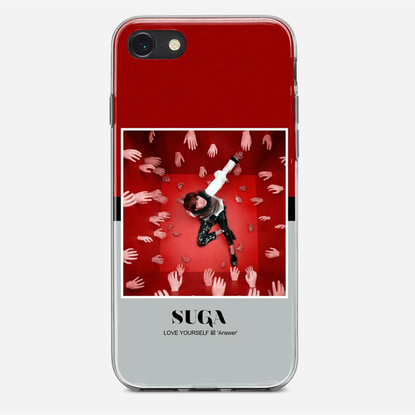 BTS Suga iPhone X Case