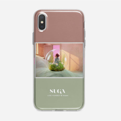 BTS Suga Photopack iPhone XS Case