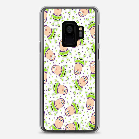 Buzz Toy Story Pattern Samsung Galaxy S9 Case