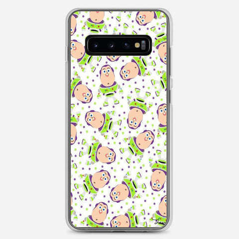 Buzz Toy Story Pattern Samsung Galaxy S10 Plus Case