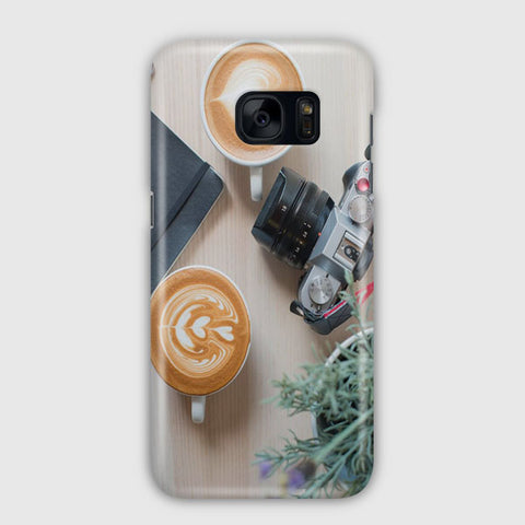 Cafe Life Samsung Galaxy S7 Edge Case