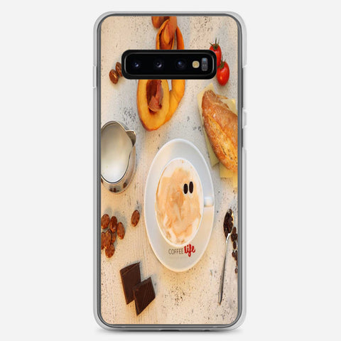 Cafe Life Samsung Galaxy S10 Plus Case