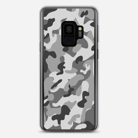 Camo Grey Samsung Galaxy S9 Case
