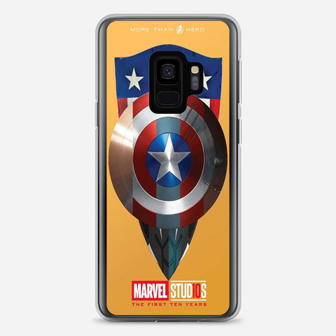 Captain America Shield Samsung Galaxy S9 Case