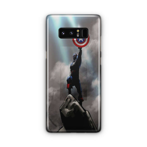 Captain America Victory Samsung Galaxy Note 8 Case