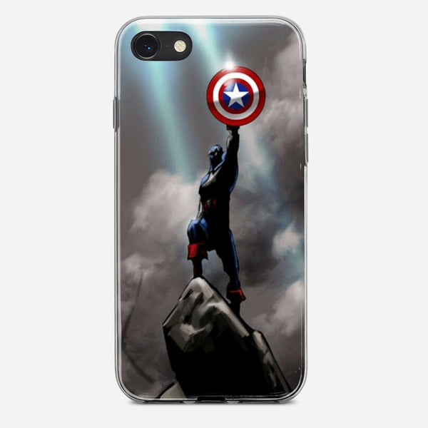 Captain America Victory iPhone X Case