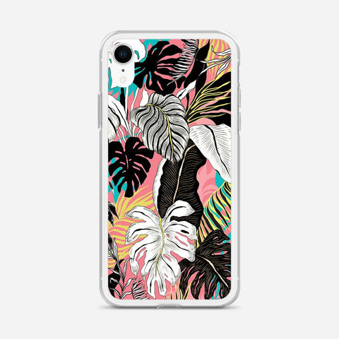 Abstract Floral iPhone XR Case