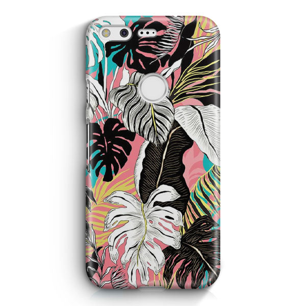 Abstract Floral Google Pixel Case