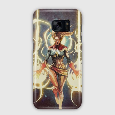 Captain Marvel Samsung Galaxy S7 Edge Case