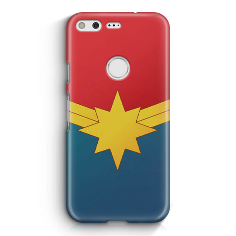 Captain Marvel Poster Google Pixel XL Case