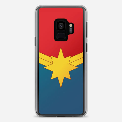 Captain Marvel Poster Samsung Galaxy S9 Case