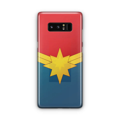 Captain Marvel Poster Samsung Galaxy Note 8 Case