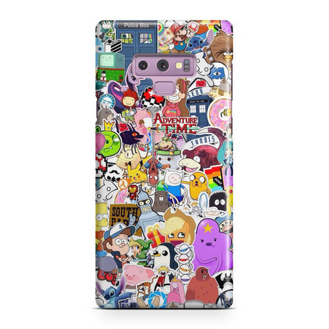 Cartoons Compilation Samsung Galaxy Note 9 Case