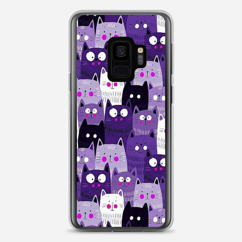 Cats Pattern Samsung Galaxy S9 Case